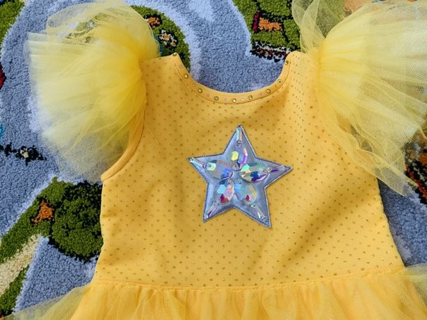 Платье Звездочка, Солнышко 5-6 лет