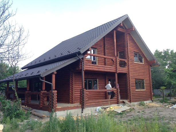 Строительство Деревянный дом Будівництво Дерев'яних будинків