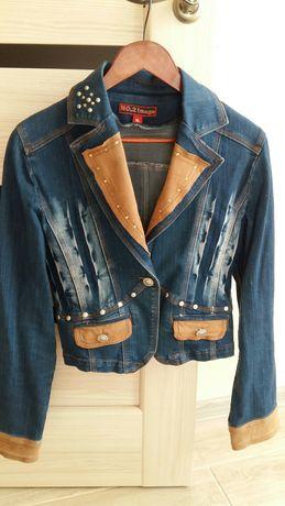 Пиджак джинс L-XL