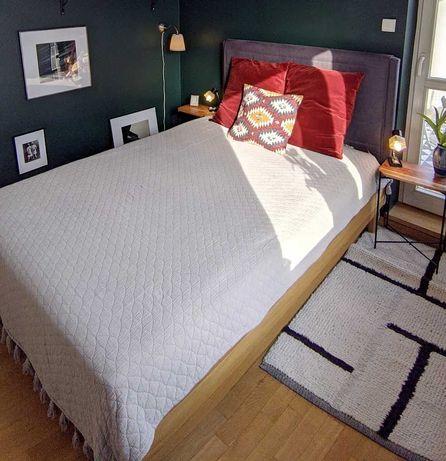 Łóżko IKEA Oppland - 140x200 plus szuflady i materac HOVAG