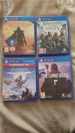 Horizon zero dawn, Technomancer, The long dark, Assassin Creed Unity