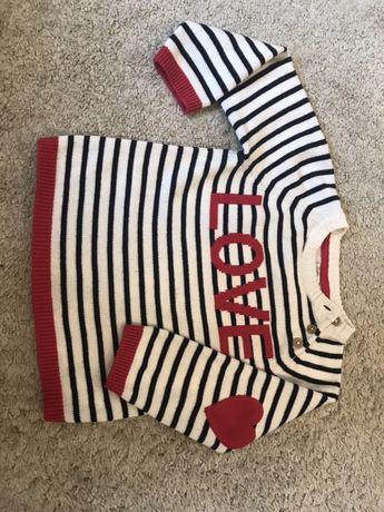 Cudny swetrek dla dziewczynki H&M rozm 86-92