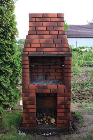 Cena na Gotowo Gril z cegły klinkierowej Gril murowany