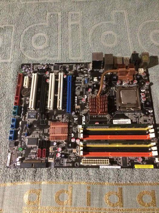 Материнская плата P5KC + Xeon E5410 Никополь - изображение 1