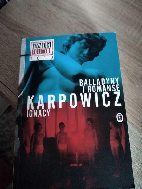 Książka Balladyny i romanse Ignacy Karpowicz.