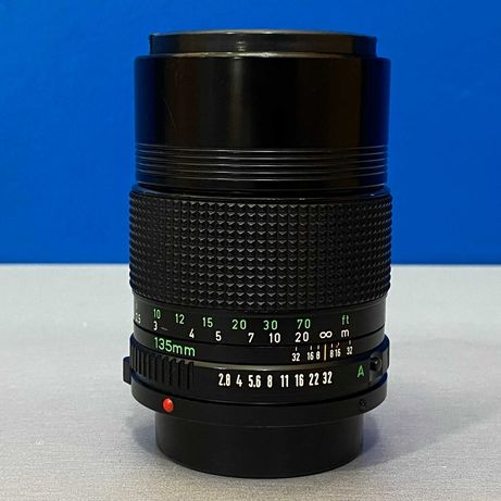 Canon FD 135mm f/2.8 (Adapt.EOS R/Nikon Z/Fuji/Sony/MFT)