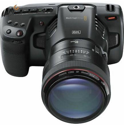 Black Magic Pocket Camera 6K + Obiektywy Canon 16-35 MM