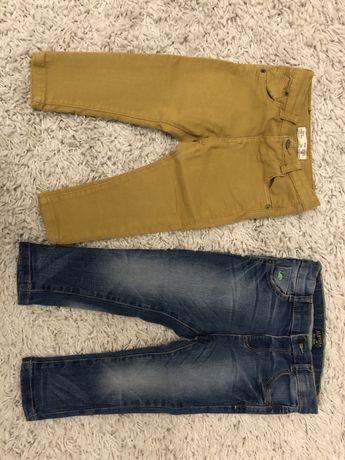 Jeansy dla chłopca 86 12-18 miesięcy