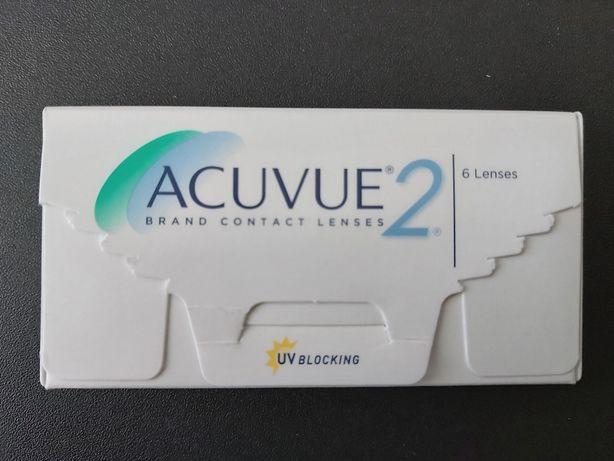 Soczewki kontaktowe Acuvue 2 / moc -2.00, 8.7 / 6 sztuk