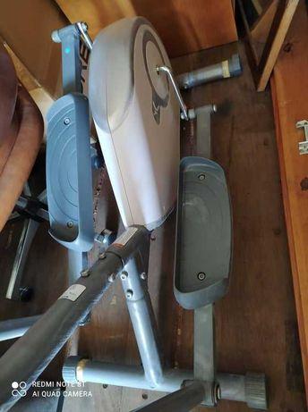 bicicleta elíptica, quase nova, contador pulsações, queima calorias.