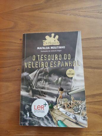 Livro- O Tesouro do Veleiro Espanhol
