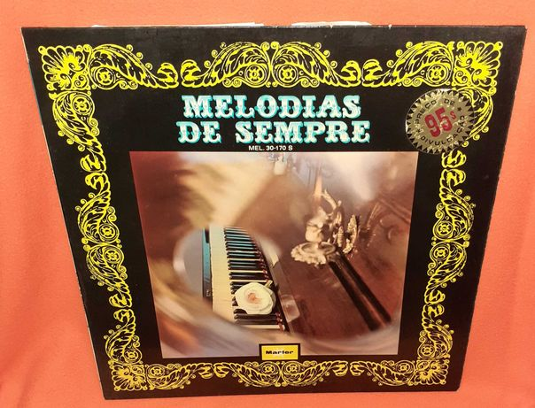 Disco Vinil- Melodias de Sempre