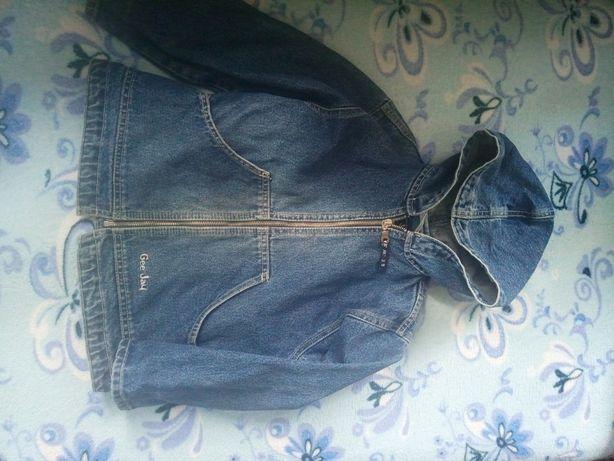 джинсовая куртка ветровка для девочки