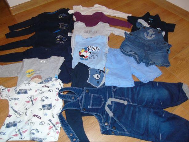 Ubranka dla dziecka rozmiar 74 - 80