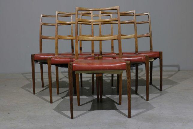 NOVIDADES   Cadeiras de jantar Johannes Andersen em pau santo