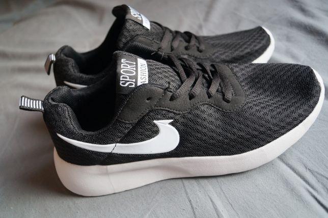 Nowe buty sportowe NIKE czarno białe rozmiar 38