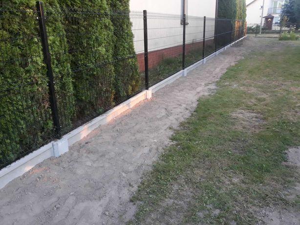 Montaż ogrodzeń świder wiertnica