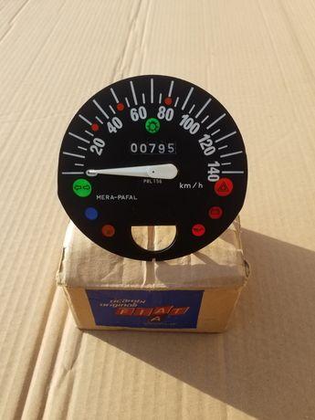Licznik zegar Fiat 126p st kapliczka 140kmh PRL ładny stan jak nowy