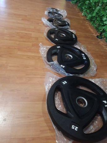 Obciążenia olimpijskie firmy PIO sprzęt siłownia