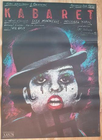 KABARET Oryginalny plakat, autor Andrzej Pągowski 1988, B1 IDEAŁ PRL