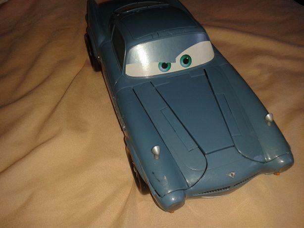 Duże auto HUDSON z armatami i noktowizorem z bajki Cars AUTA Disney