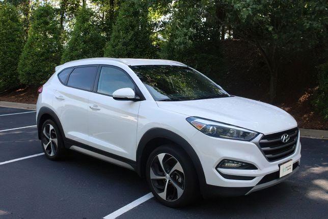 продаж Hyundai Tucson 2016