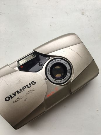 Olympus mju 2 (35 мм, f2,8, фикс)