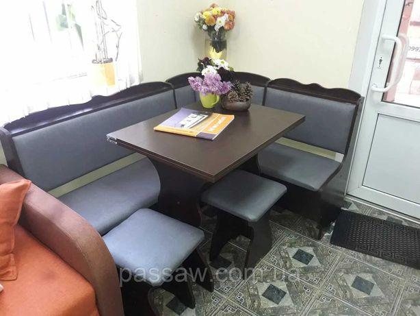Кухонный комплект Лорд с раскладным столом