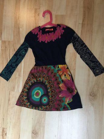 Desigual sukienka rozmiar 5-6 lat