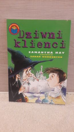 """Książka dla dzieci """"Dziwni klienci"""""""