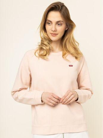Nowa oryginalna różowa pudrowa bluza Levis
