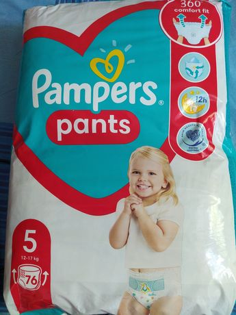 Памперсы трусики  Pampers pants  размер 5