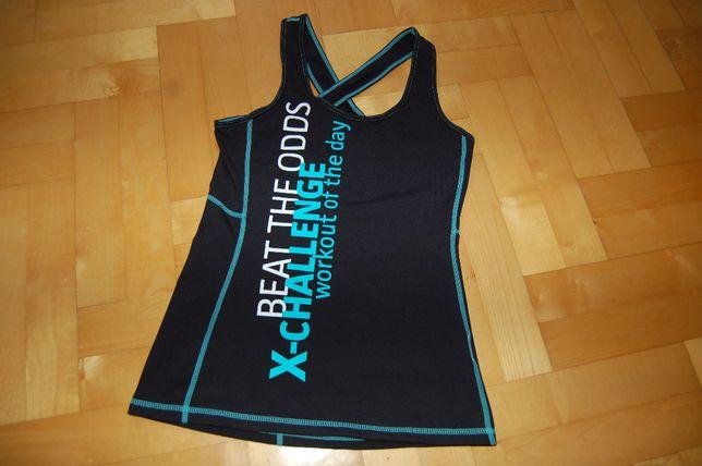 sportowa koszulka bokserka fitnes rozm. xs
