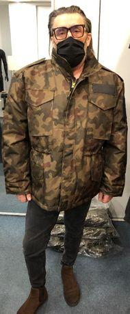 "Kurtka ""wojskowa"" z tkaniny typu goretex"