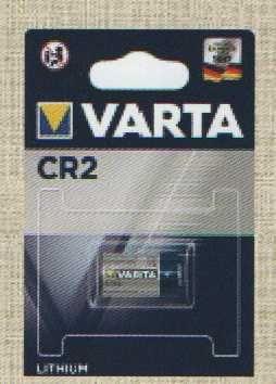Pilhas VARTA CR2A