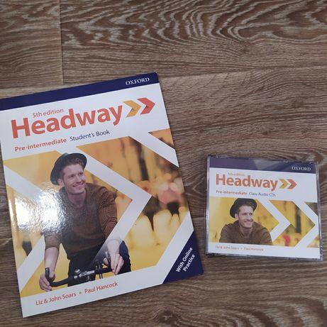 Учебник new headway 5th edition pre-intermediate student's book with o