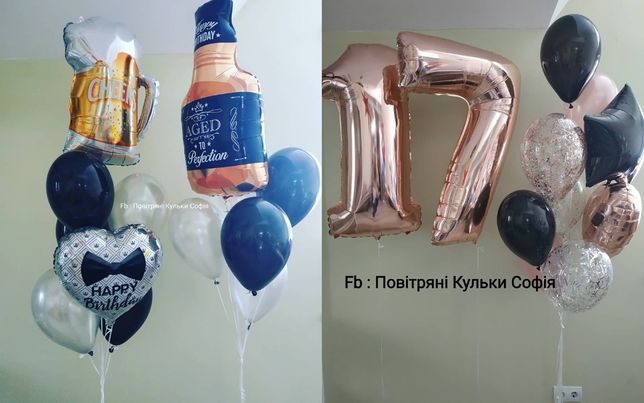 Гелієві кульки, повітряні кульки