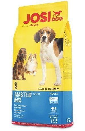 JOSERA Master - chrupiący mix dla psa 15 kg + 3kg GRATIS - sucha karma