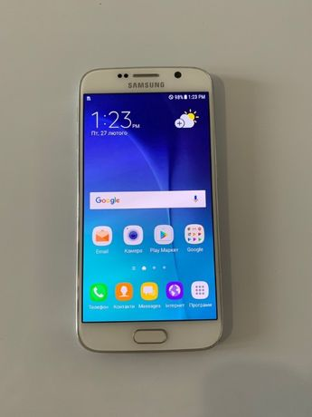 Samsung Galaxy S6 32GB White продаж або обмін