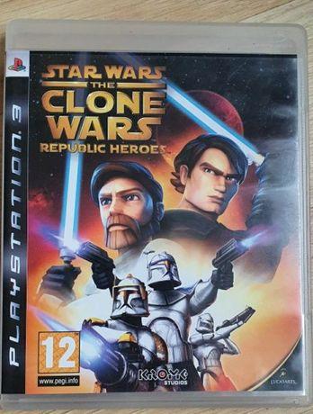 Star Wars Clone Wars Republic Heroes PS3 bardzo dobry stan