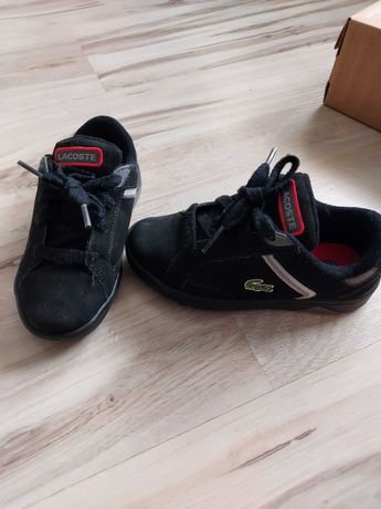 Lacoste adidasy czarne rozm. 26,5 wkł. 18 cm