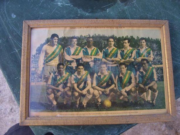 Quadro Equipa FCP 1958/1959 (Peça rara)