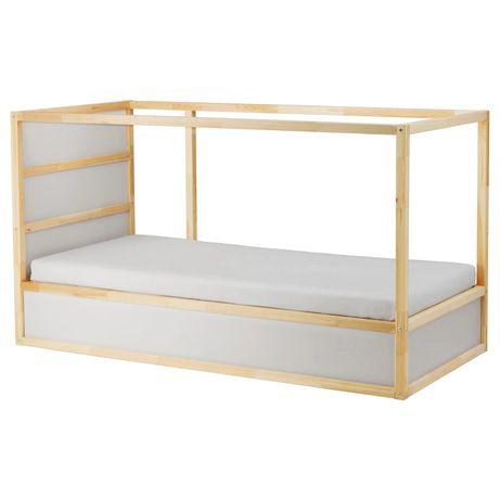 Łóżko KURA Ikea + materac piętrowe dwustronne