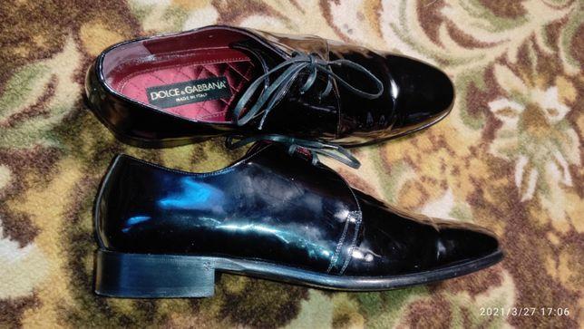 Кожаные туфли Dolce&Gabanna