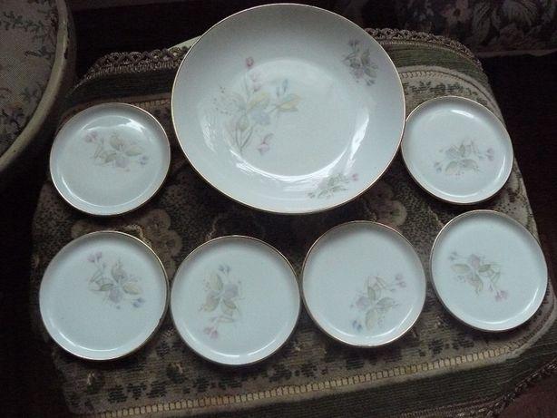 Porcelana - zestaw do konfitury Furstenberg.