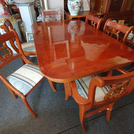 Stół włoski z krzesłami