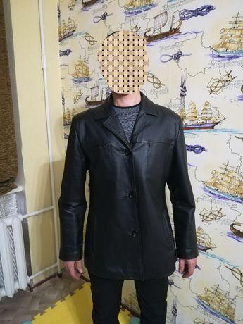 Куртка кожаная 54р