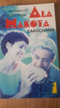 """,,Ala  Makota - Zakochana """"   Książka młodzieżowa"""
