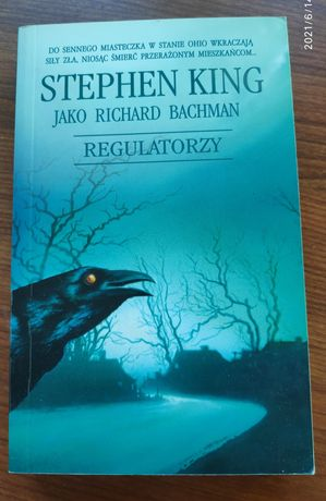 Książka Regulatorzy - Stephen King Tanio!