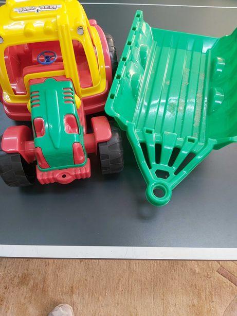 Traktorki plastikowe zestaw